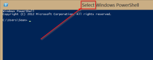 SelectPowershell